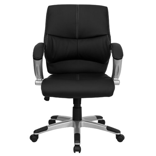 Flash Furniture Leather Office Executive Chair with Stitching
