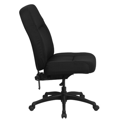 Flash Furniture Hercules Series High-Back Big and Tall Fabric Office Chair with Extra Wide Seat