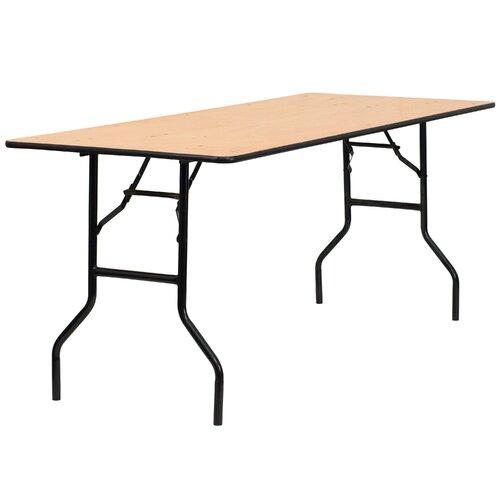 Flash Furniture Rectangular Folding Table