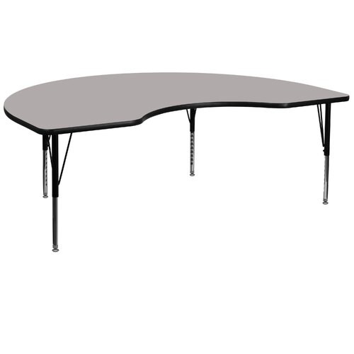 Flash Furniture Kidney Activity Table