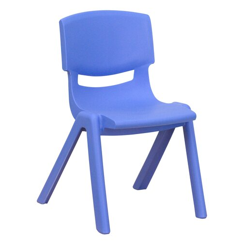 """Flash Furniture 12"""" Plastic Stackable Classroom Chair"""