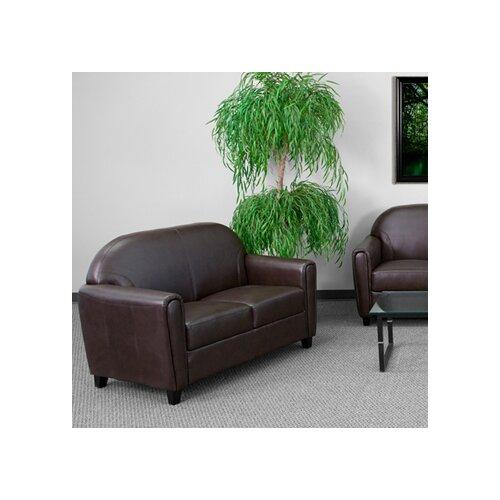 Flash Furniture Hercules Envoy Series Leather Love Seat