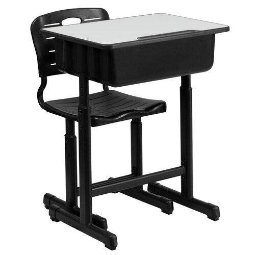 Flash furniture wayfair supply - Student desk and chair set ...