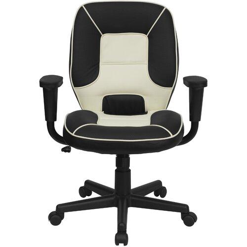 Flash Furniture Mid-Back Vinyl Steno Executive Chair