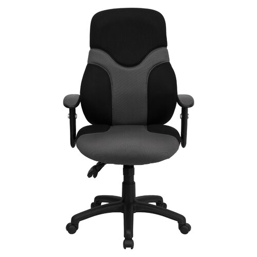 Flash Furniture Ergonomic High-Back Mesh Task Chair with Adjustable Arms