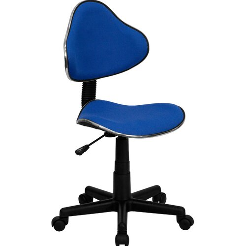 Flash Furniture Student Mid Back Task Chair with Metal Accent Bands