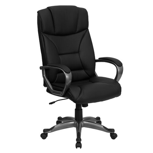 Flash Furniture Hi-Back Leather Executive Chair