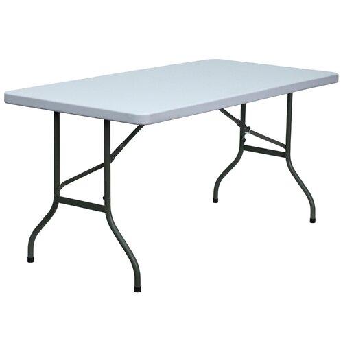 "Flash Furniture 60"" Rectangular Folding Table"