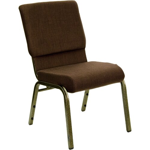 Flash Furniture Hercules Series 18.5'' Wide Stacking Church Chair with 4.25'' Thick Seat