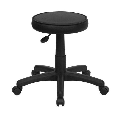 Flash Furniture Height Adjustable Backless Stool