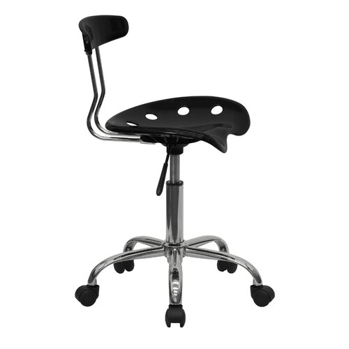 Flash Furniture Vibrant Computer Task Chair with Tractor Seat