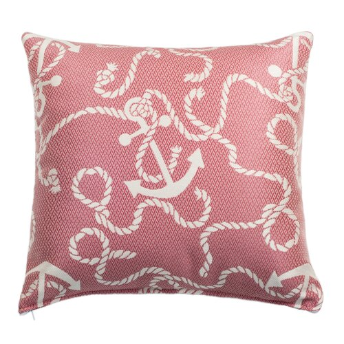 Anchors Aweigh Outdoor and Indoor Square Pillow