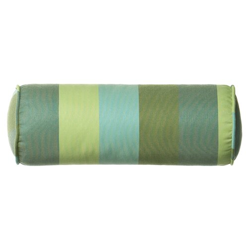 Outdoor/Indoor Vibrant Juno Stripe Bolster Pillow