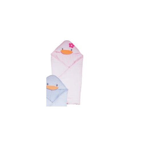 Stylish Summer Receiving Blanket in Pink
