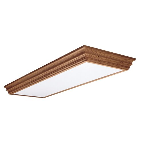 Cooper Lighting Four Lamp Residential Ballast in Natural Oak