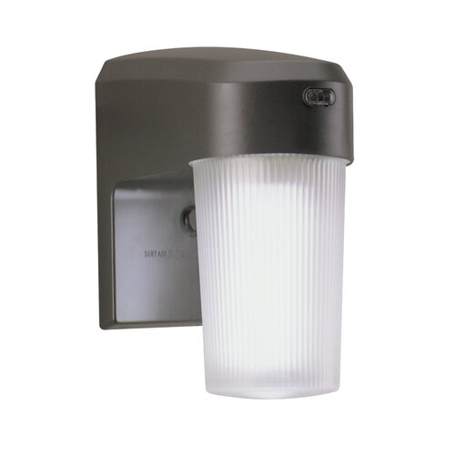 Cooper Lighting 13 Watt CFL Dusk-to-Dawn Light in Bronze
