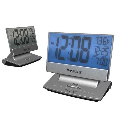 LCD Plasma Alarm Clock