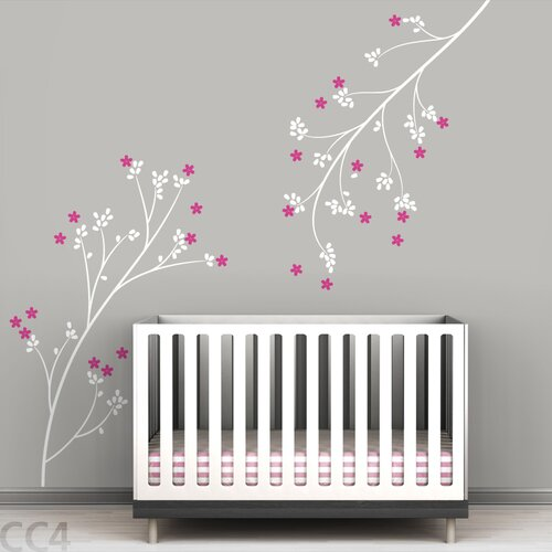 LittleLion Studio Tree Branches Blossom Wall Decal