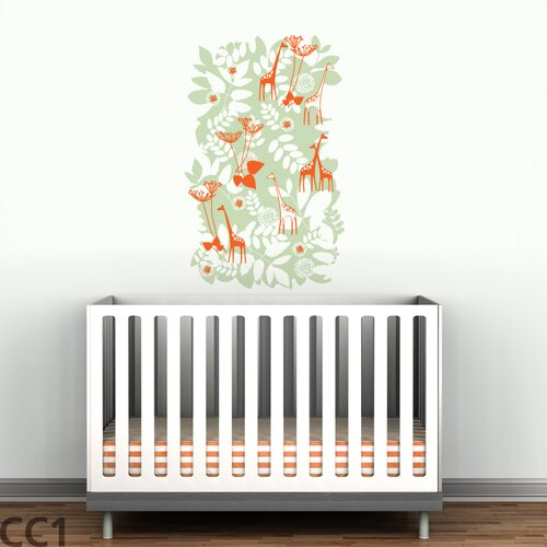 LittleLion Studio Mural Backyard Wall Decal