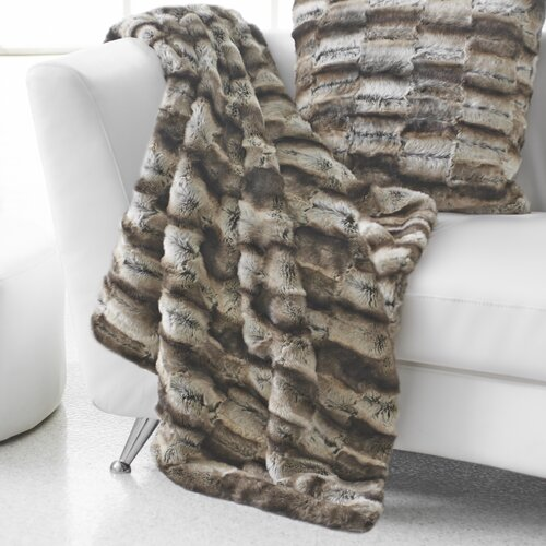 Seduction Wrapture Faux Fur Acrylic/Polyester Throw