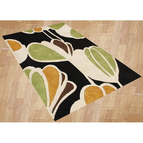 Alliyah Rugs Home Floral Rug