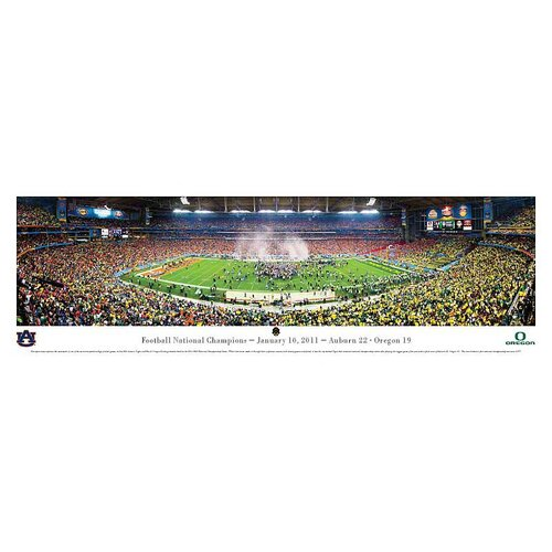 NCAA BCS 2011 - Auburn Photographic Print
