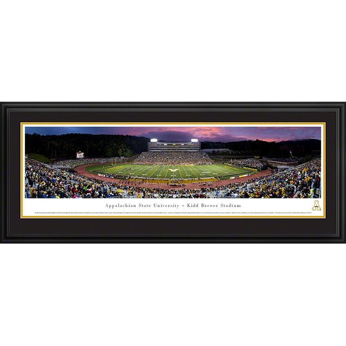 NCAA Appalachian State University - Twilight Deluxe Framed Photographic Print