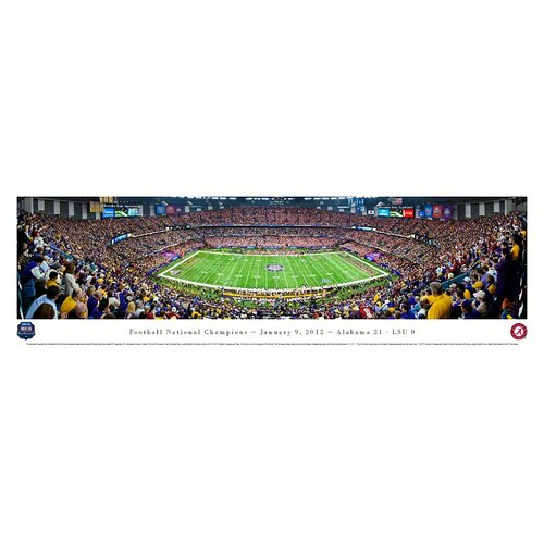 NCAA BCS Football Championship 2012 Photographic Print