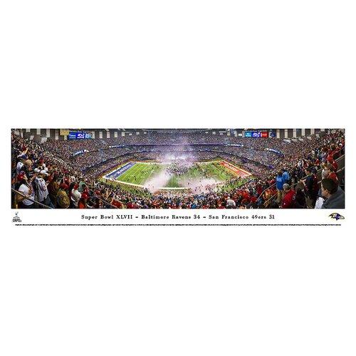 Blakeway Worldwide Panoramas, Inc NFL Super Bowl 2013 by Christopher Gjevre Photographic Print