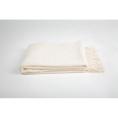 Cashmere Collection Cashmere and Merino Wool Blend Throw