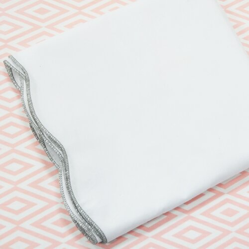 Scallop 2 Piece Crib Bedding Set