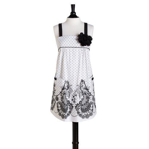 Jessie Steele French Lace Bib Mia Apron