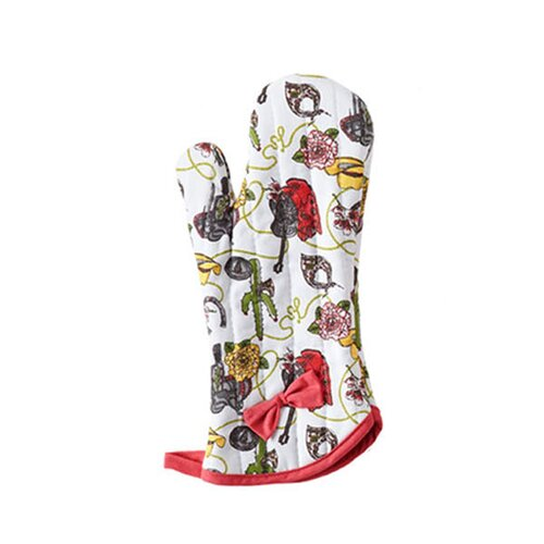 Jessie Steele Cowgirl Bow with Oven Mitt