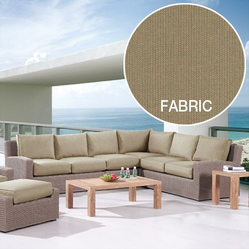 Reims Sectional Piece with Cushion