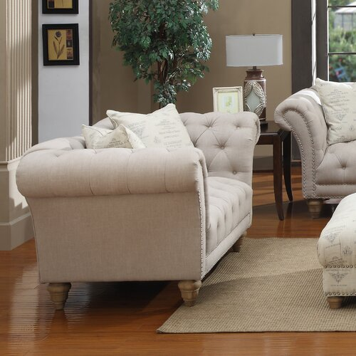 Emerald Home Furnishings Hutton Settee