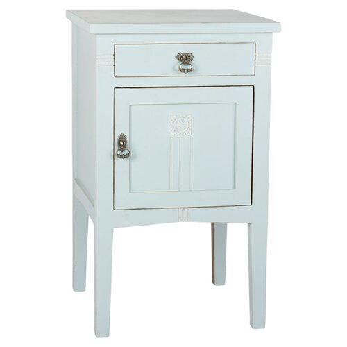 Antique Revival PL Home 1 Drawer Nightstand