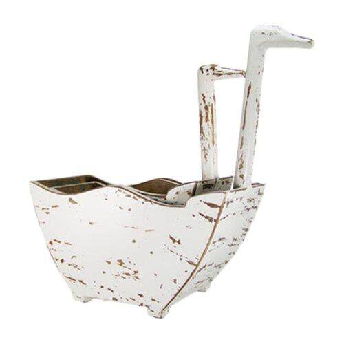 Antique Revival Swan Handle Bucket