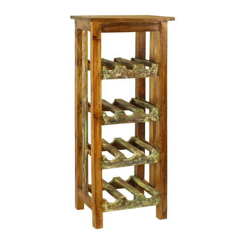 Rustic Valley 12 Bottle Wine Rack