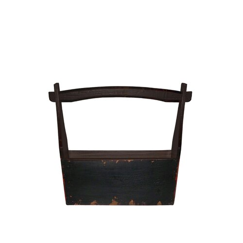 Knick-Knack Holder with Wooden Handle