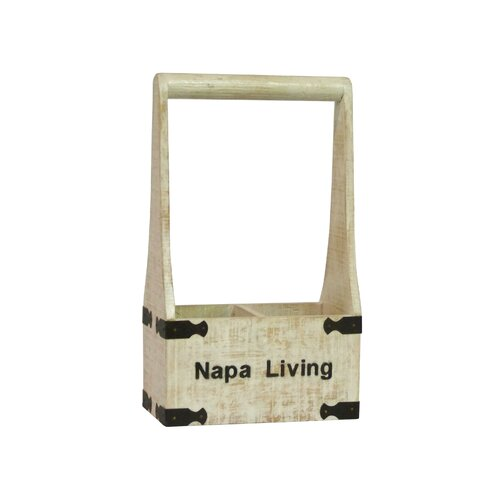 Antique Revival Napa Living 2 Bottle Wine Holder
