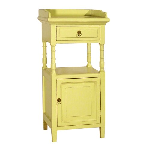Alluna 1 Drawer Side Cabinet