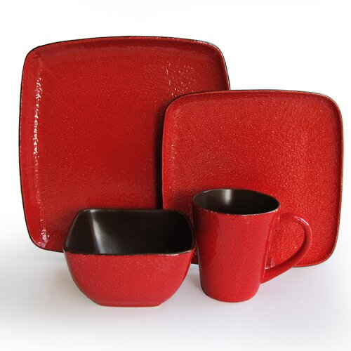 Caliente 16 Piece Dinnerware Set