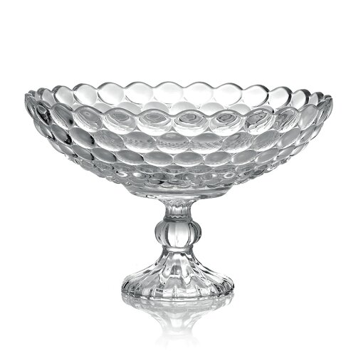 Global Views Grande Footed Bowl: Global Views Grande Footed Fruit Basket Or Fruit Bowl
