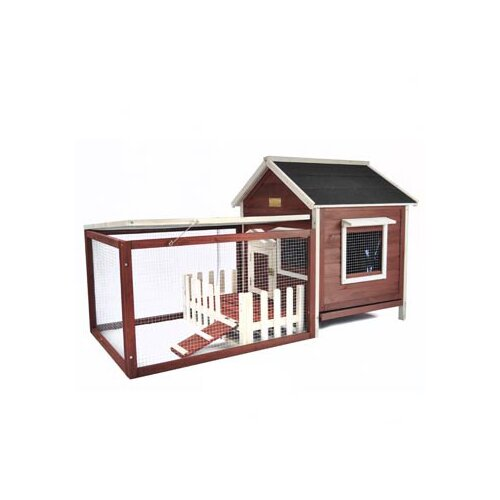 Advantek The Picket Fence Rabbit Hutch