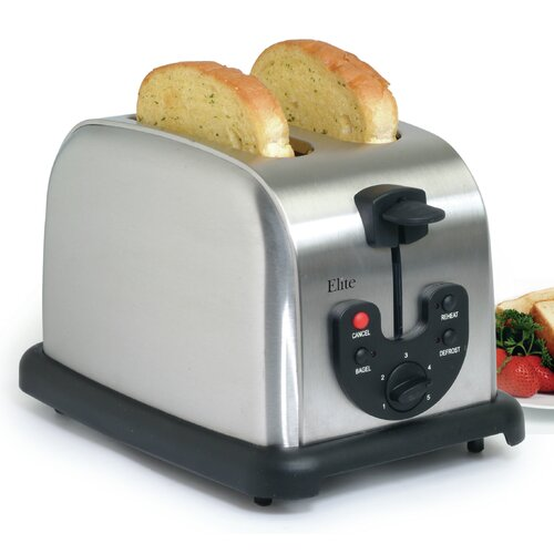 Elite Platinum 2-Slice Electronic Toaster