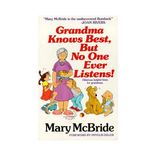 Simon & Schuster Grandma Knows Best Book