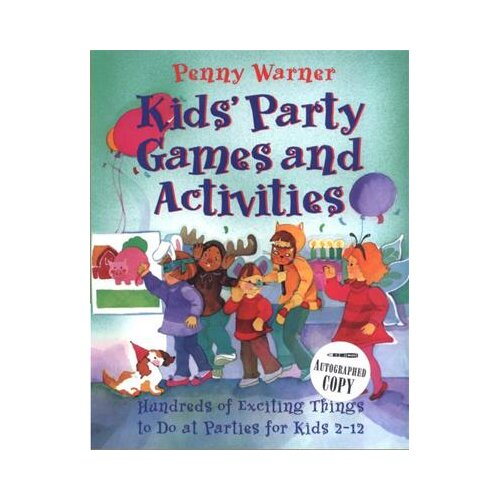 Simon & Schuster Kids Party Games and Activities Book