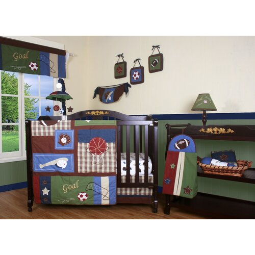 Boutique Classic Sport 13 Piece Crib Bedding Set