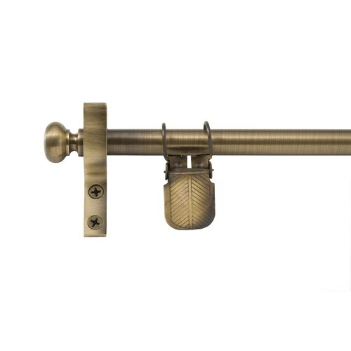 Zoroufy Classic Wall Hanger with Round Finials