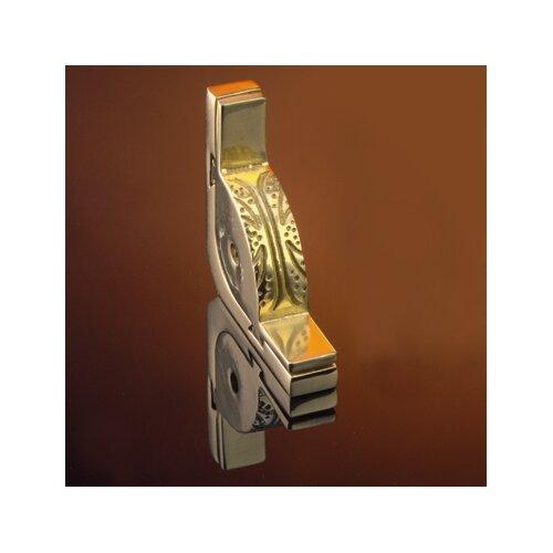 "Zoroufy Dynasty 48"" Roped Tubular Stair Rod Set with Decorative Brackets Pineapple Finials"